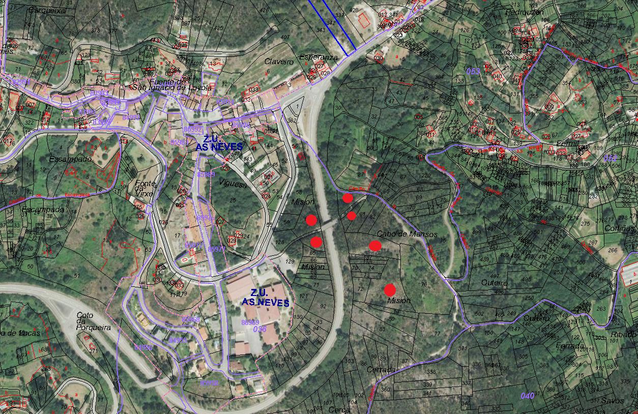 Parcelas rústicas en As Neves centro – MV546